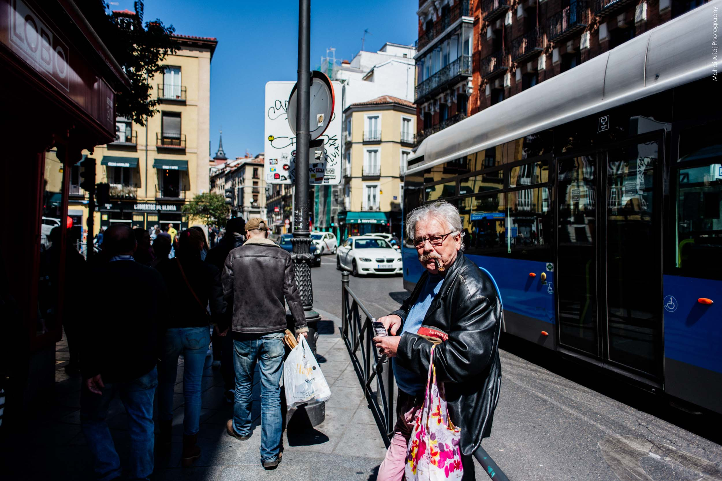 Street Photography in Madrid - Photographie de rue à Madrid