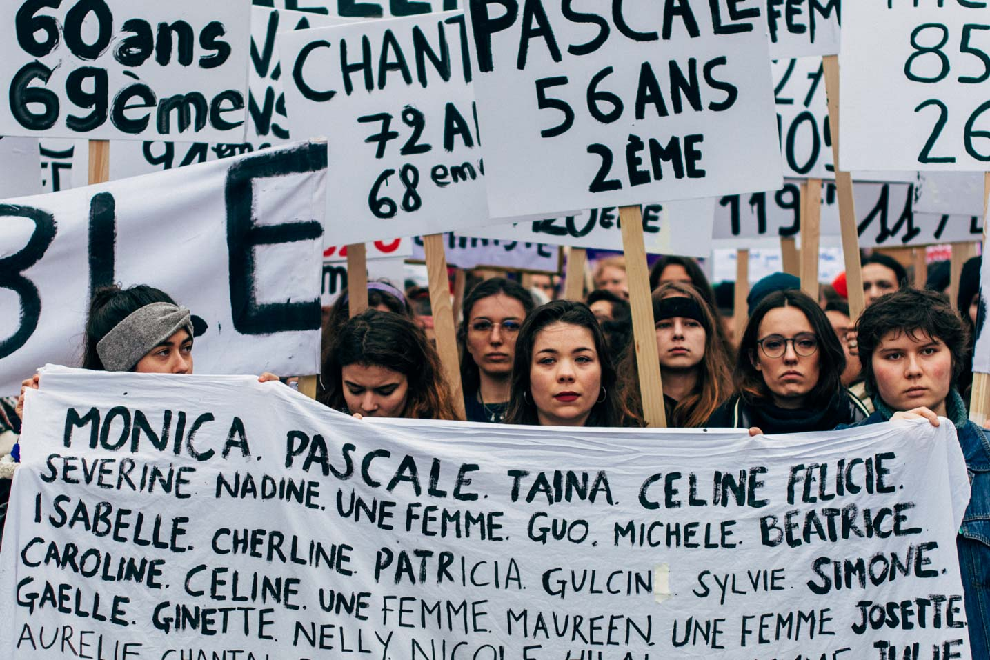 Journée internationale des droits de la femme à Paris  - Paris women rights day