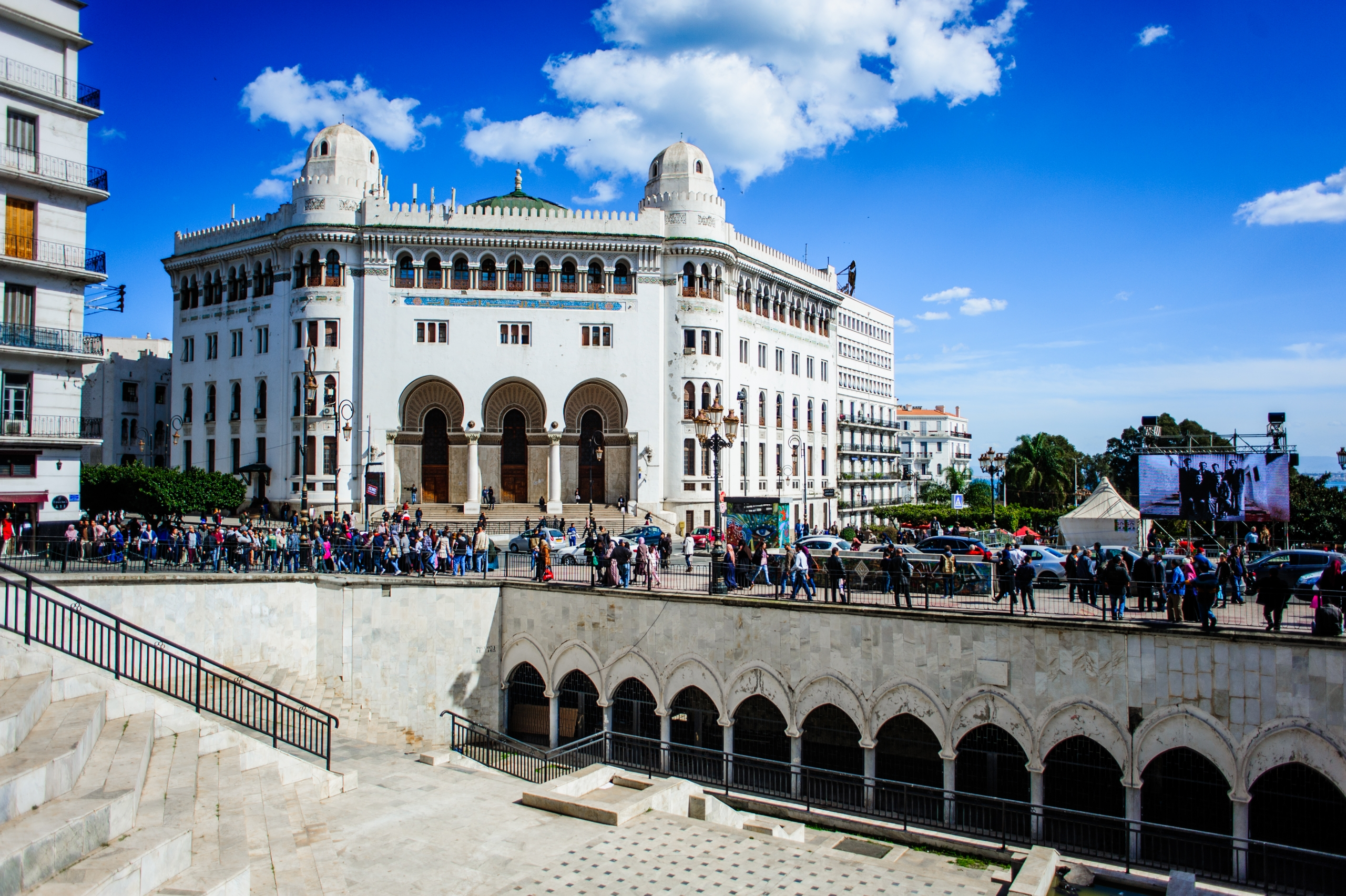 La grande Poste d'Alger - Grand Post Office Algiers