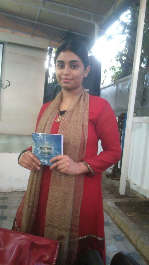 2. Holding My Book