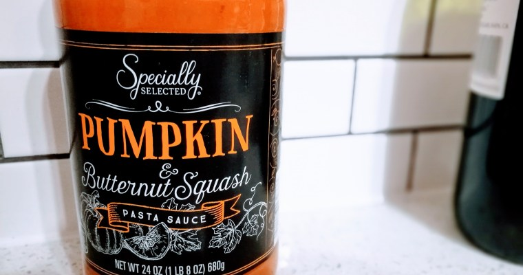 Aldi: Specially Selected Pumpkin and Butternut Squash Pasta Sauce