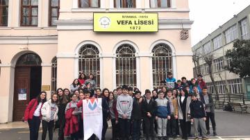 Vefa Lisesi ve Şehremini Anadolu Lisesi Ziyaretimiz