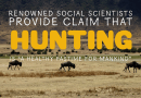 Medical Science Gives Hunters Thumbs-up Approval