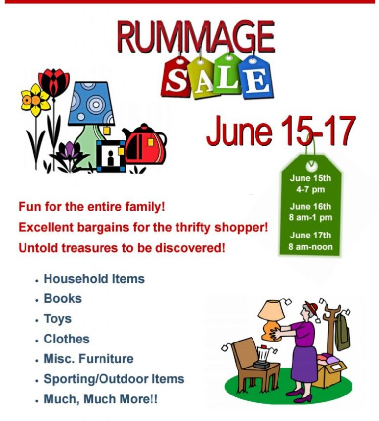 MUMC Rummage Sale to support local missions this week - Mahomet Daily-