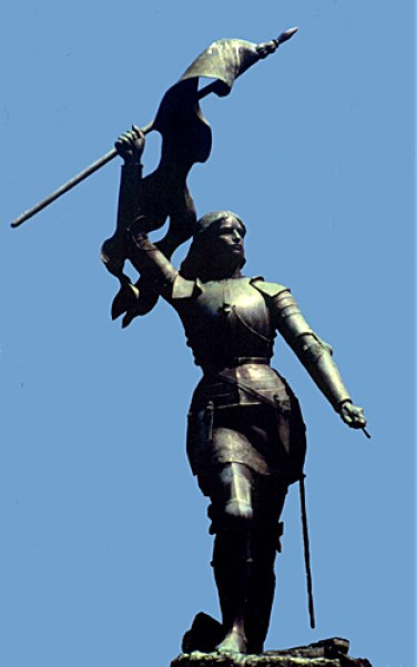 Image result for statue of joan of arc