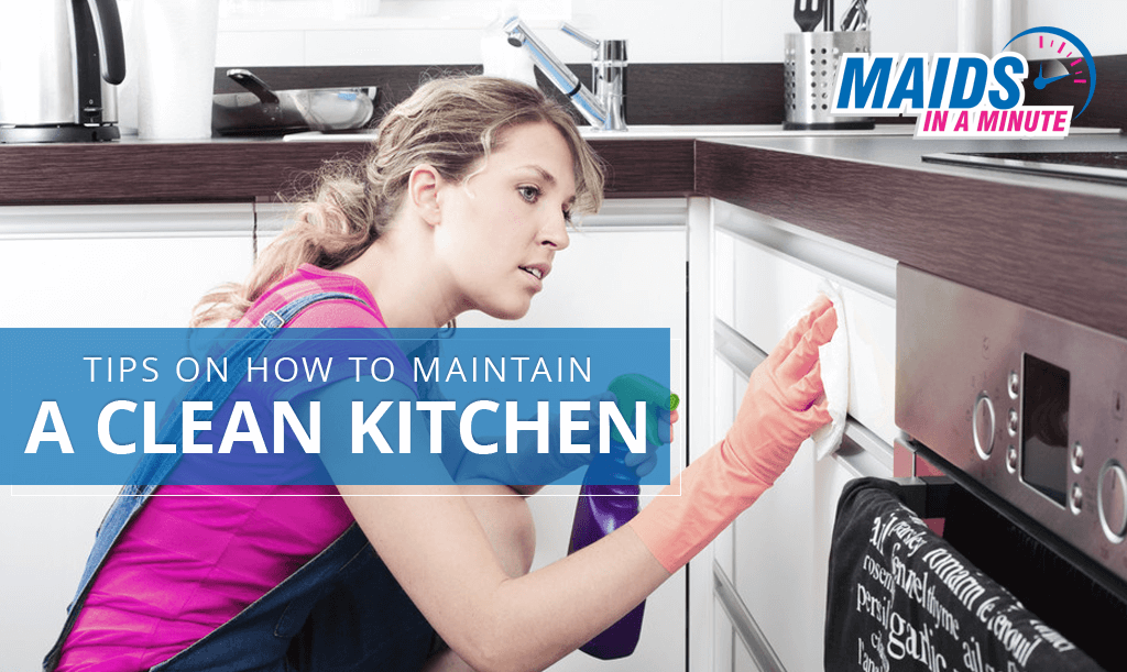 Tips on How to Maintain a Clean Kitchen
