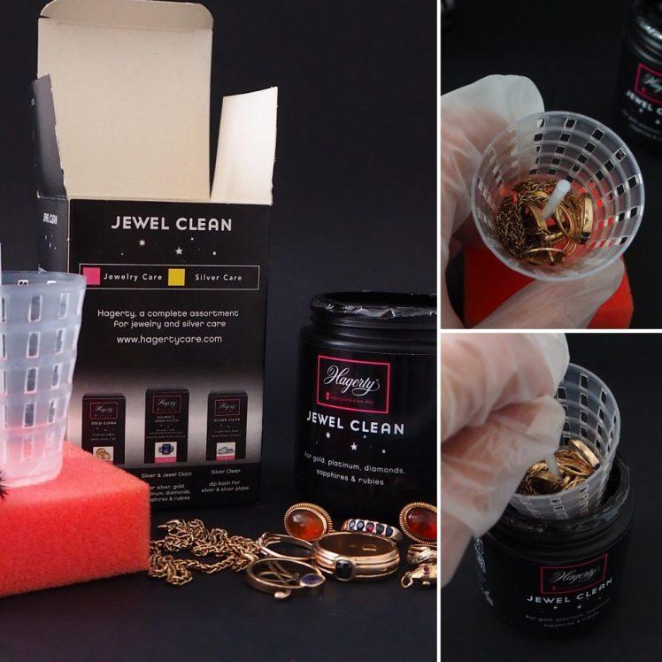 korujen puhdistus jewel cleanilla