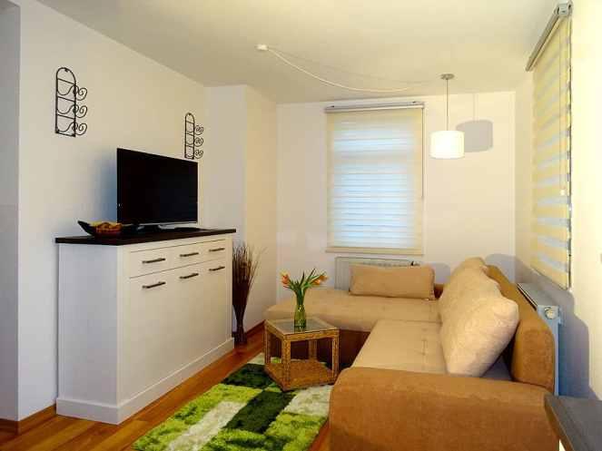 Wohnbereich mit TV