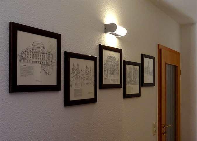 Historische Zeichnungen von Dresden