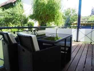 Balkon mit Sitzlounge