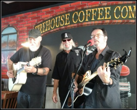 Matt Ross and Billy at Firehouse in Bullhead City