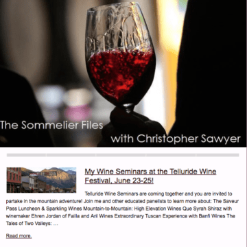 The Sommelier Files