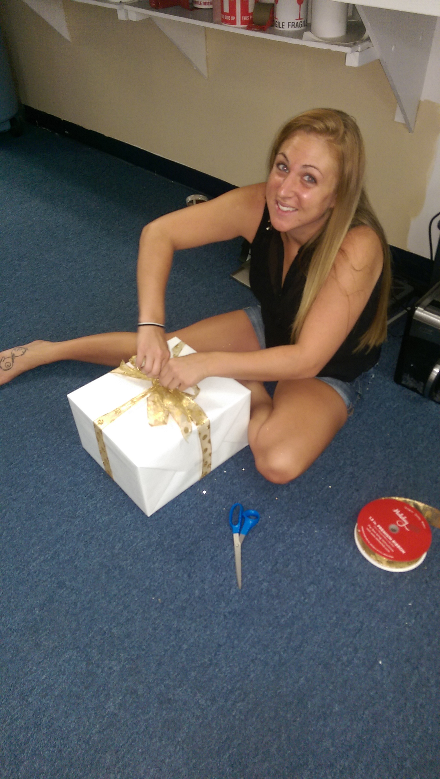 Brit Gift Wrapping
