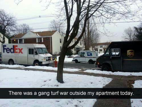 Carrier Turf War