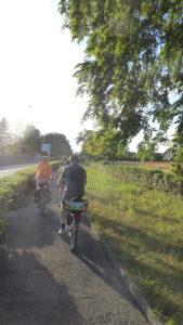 Exploring the Geneva landscape by bike