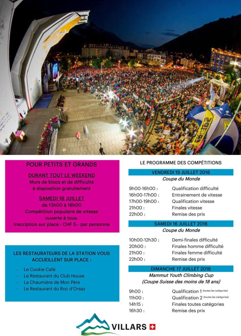 Program of the event
