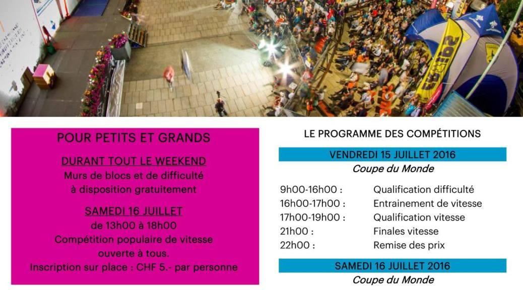 Program of the event