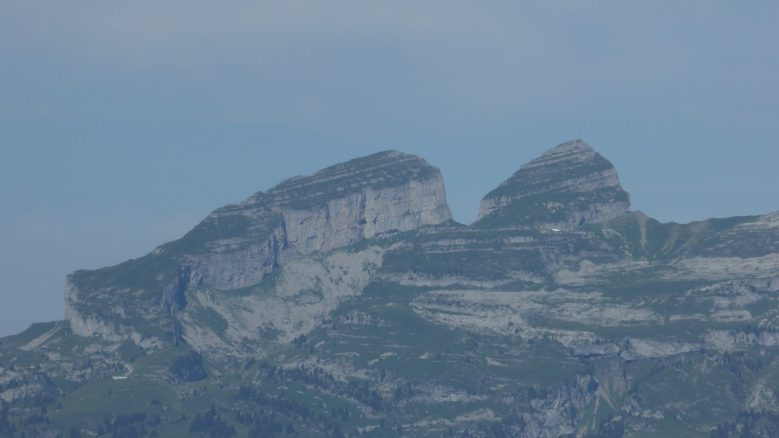 The Tour D'aï seen from Les Diablerets
