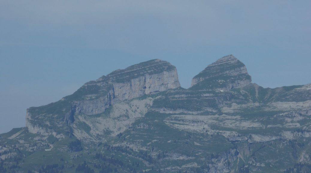 The Tour D'aï seen from Les Diablerets