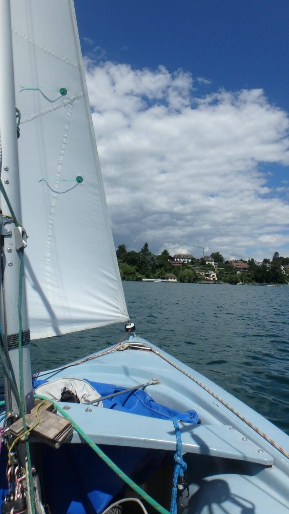 Some people are even lucky enough to go sailing