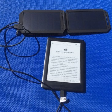 Using an Xtorm Solar Charger