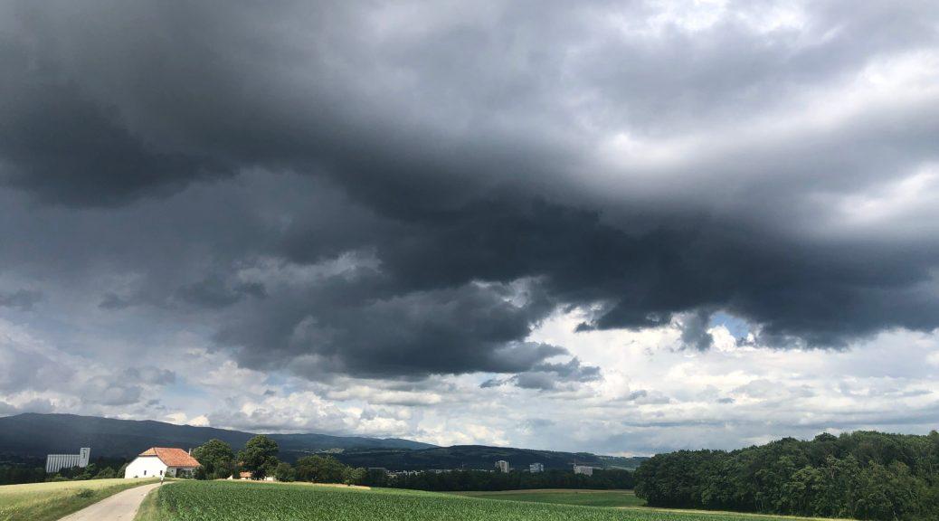 A Walk Under Clouds
