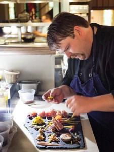 Chef Adam Flood of Grace