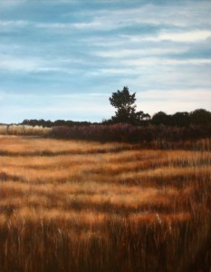 October Marsh Evening by Alex Dunwoodie