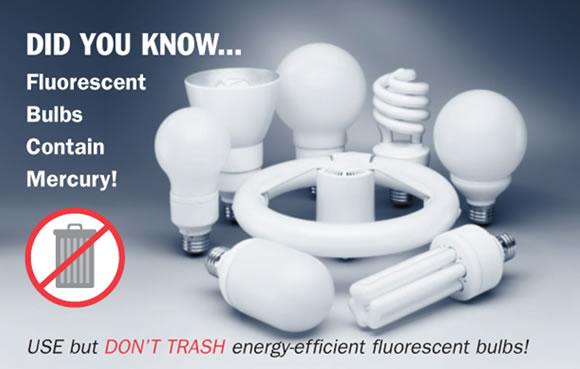 Recycling Light Bulbs Mercury