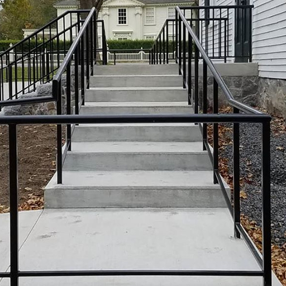 Iron Handrails And Grab Bars At Maine Architectural Ironworks | Handicap Rails For Steps | Grab Rail | Deck | Porch Railing | Bed Rails | Activated Led