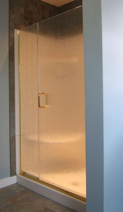 Two Panel Frameless Shower Doors