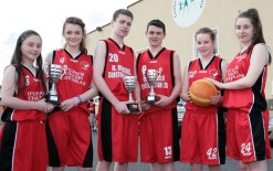 St. Mary's Basketball Club All-Ireland 18-4-2014