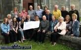 Pat Cassidy Irish Cancer Cheque Presentation 10-6-2014
