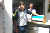Eamonn Fitzmaurice did the Divanes VW sponsored buster €500 draw at their premises on Tuesday with back-up from Joe Martin. The lucky €500 ticket drawn by the Kerry senior football team manager had the name of Hugh O'Connell on it.