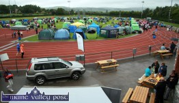 Setting the Scene: Rain didn't stop play at the annual Tralee & District Canine Show at An Riocht AC grounds in Castleisland in 2013. ©Photographs: John Reidy 24-8-2013