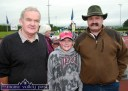 Locals, Mossie O'Connell (left) pictured with David Dillon and his dad, Damien at the annual Tralee & District Canine Club Show at An Riocht Athletic Club grounds in Castleisland. ©Photographs: John Reidy 24-8-2013