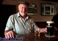 Jerry 'The Minister' Collins pictured at Kate Pats's Bar after the start of the third annual Paudie Fitzmaurice Memorial Tractor and Vintage Run at Brosna GAA Club grounds on Sunday morning. ©Photograph: John Reidy