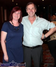 Locals, Gloria Mulcahy and John Joe O'Reilly pictured at Thursday night's Social Dancing at the River Island Hotel. ©Photograph: John Reidy