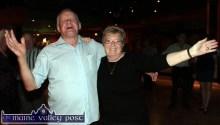 Timmy O'Connor, Castleisland and Phylis McLoughlin, Tralee enjoying the Thursday night's Social Dancing at Castleisland's River Island Hotel. ©Photograph: John Reidy