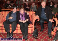 Boston, USA based, Mike and Liz Mulcahy from Rochchapel pictured with Tom Finucane, Ballydesmond taking the early seats at the launch of the 2014 Patrick O'Keeffe Traditional Music Festival by Radio Kerry at the River Island Hotel. ©Photograph: John Reidy 24-10-2014