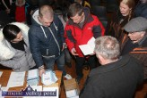 Organisers and volunteers arranging the leaflet campaign at the Right2Water Castleisland meeting at the Ivy Leaf Art Centre on Wednesday night. ©Photograph: John Reidy