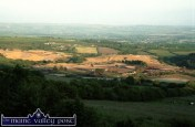 Castleisland Golf Course under construction in this view from Upper Tulligubeen on June 21-2001. ©Photograph: John Reidy