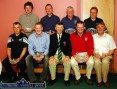 Castleisland Golf Club Captain, Dano Dennehy (centre) pictured after he had presented his captain's prizes to the various category winners at the club house on Sunday night. front from left: Brendan Brosnan, 4th; DJ Cronin, 3rd; Michael Moriarty, overall winner and Michael Coote, Best Gross. Back from left: Gerard Sheehy, 5th; Frank Fleming, back nine; John Geaney, Cetegory B and John Murphy, Category C. The second prize winner was Kieran Mulchinock who was not available at the time the photograph was taken. ©Photograph: John Reidy 20/06/2004