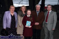 Ann Marie Callaghan pictured after she was confirmed by Bishop Ray Browne in Castleisland on Friday afternoon. Ann Marie is pictured with her parents: Mairéad and Harry, brother, Jonathan and granny, Margaret McGlynn. ©Photograph: John Reidy
