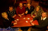 A few hands of 31 before the serious stuff starts on Sunday night at the River Island Hotel. Players include: Maureen Fitzgerald, Templeglantine; Donie Cremins and John Skevana O'Sullivan, organisers, Castleisland; Fintan Quirke and Kathleen McCarthy, Abbeyfeale and Dan Reidy, Mountcollins. ©Photograph: John Reidy 22-3-2015