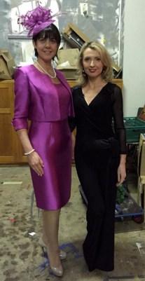 Liz Galwey (left) and Orla Diffley of Upfront Model Management.