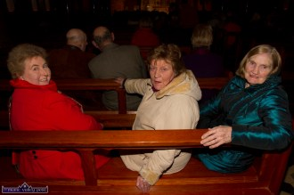 Eileen Cronin (left) pictured with Margaret Nolan and Margaret McSweeney pictured at the at the Church of Saints Stephen & John for the Good Friday Dramatisation of the Passion and Death of Christ by the Tralee based St. John's Parish Actors and Choir. ©Photograph: John Reidy 3-4-2015