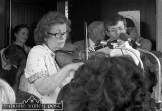 Julia Clifford and her son Billy playing at the Denis Murphy Memorial Weekend in Gneeveguilla in 1983. ©Photograph: John Reidy 9-8-1983