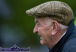 Well-known Castleisland greyhound owner / trainer, Noel Browne keeping a close eye on the St. Kieran's V Feale Rangers game in the Garvey's SuperValu County Senior Football Championship in Páirc na gCúlach in Cordal on Saturday evening. ©Photograph: john Reidy