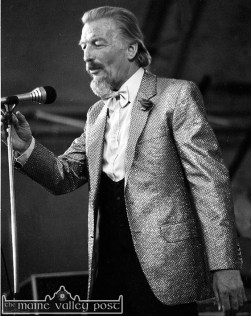 The late James Last pictured at Austin Stack Park during the 1983 Rose of Tralee Festival. ©Photograph: John Reidy 28-8-1983